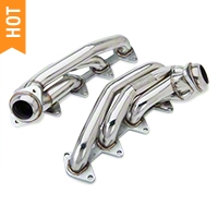 Pypes Polished Shorty Headers (05-10 GT) - Pypes HDR54S