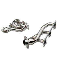 Pypes Polished Shorty Headers (05-10 V6) - Pypes HDR56S