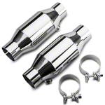 Pypes High Flow Ceramic Catalytic Converter Kit (86-10 All) - Pypes CVM10K