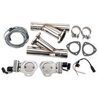 Pypes Electric Exhaust Cutout Kit - 2.5 in. (79-14 All) - Pypes HVE10K