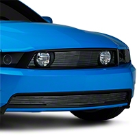 Modern Billet Polished Pony Delete Billet Grille (10-12 GT)