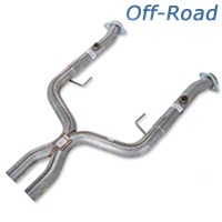 Pypes Off-Road X-pipe (05-10 GT w/ Long Tube Headers) - Pypes XFM55