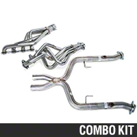 Pypes Long Tube Headers w/ Shorty X-pipe (05-10 GT) - Pypes HDR55SK