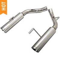 Pypes Pype-Bomb Axle-Back Exhaust (05-10 GT, GT500) - Pypes SFM60MS