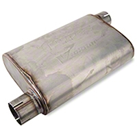 Pypes Violator Offset Muffler (79-04 All, Excludes 99-04 Cobra) - Pypes MVV10