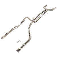 Pypes Mid-Muffler True Dual Exhaust (05-10 V6) - Pypes SFM69