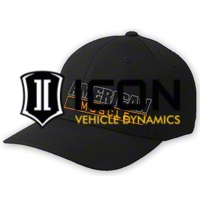 AmericanMuscle Flex-Fit Hat - Black - AM Accessories AM-HAT-LGXL||AM-HAT-SMMD