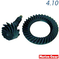 Motive Performance Plus 4.10 Gears (99-04 V6) - Motive Gears F7.5-410