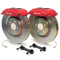 Brembo GT500 Front Big Brake Kit - Slotted Rotors (05-14 All) - Brembo 1B5.8001A2K