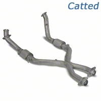SLP Catted X-Pipe (99-04 4.6L) - SLP M31032