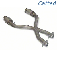 SLP Catted Shorty X-Pipe (96-04 4.6L) - SLP M31034