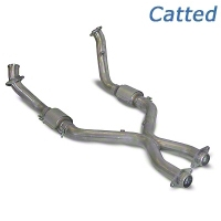 SLP Catted X-Pipe (05-09 GT) - SLP M31538