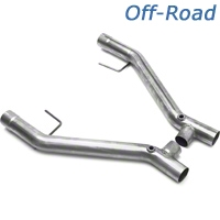 JBA Off-Road Shorty H-Pipe (05-10 GT) - JBA 6675SH