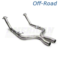 JBA Off-Road X-Pipe (05-10 GT) - JBA 1775SX
