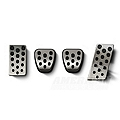 Bullitt Style Pedal Covers - Manual (94-04 All) - AM Interior 24008
