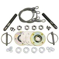 Ford Racing Hood Latch and Pin Kit (79-04 All) - Ford Racing M-16700-A