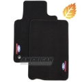 Ford Racing Black Floor Mats (05-09 All) - Ford Racing M-13086-C