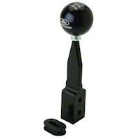 Ford Racing SVT Shift Knob w/ Arm - Black (07-09 GT500) - Ford Racing M-7213-J