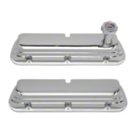 Ford Racing Chrome Valve Covers (86-93 5.0L) - Ford Racing M-6582-D302