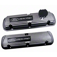 Ford Racing Black Valve Covers (86-93 5.0L) - Ford Racing M-6000-J302R