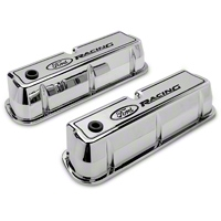 Ford Racing Polished Valve Covers (289, 302, 351W) - Ford Racing 302-001