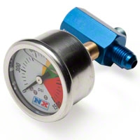 NX Bottle Pressure Gauge - D-4 (79-12 All) - Nitrous Express 15509
