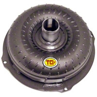 Street Fighter AOD Lockup Torque Converter w/ Anti-Balloon Plate (80-93 V8) - TCI 432801