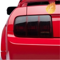 Smoked Tail Light Tint (05-09 All) - American Muscle Graphics 26061