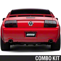 Smoked Brake Light Tint Kit (05-09 All) - American Muscle Graphics 26061||26066||KIT