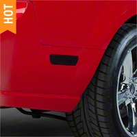 Smoked Quarter Marker Light Tint (05-09 All) - AmericanMuscle Graphics 26079