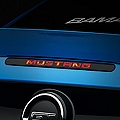 Mustang Third Brake Light Decal (10-14) - AmericanMuscle Graphics 26081