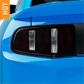 Smoked Tail Light Tint (10-12 All) - American Muscle Graphics 26089