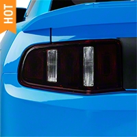 Smoked Tail Light Tint (10-12 All) - AmericanMuscle Graphics 26089