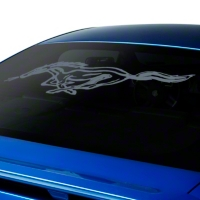 Running Pony Window Decal - Frosted (05-14 All)