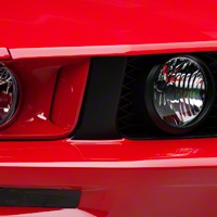 Grille Pillar Blackout - Matte Black (05-09 GT) - AmericanMuscle Graphics 26114