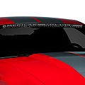 AmericanMuscle Windshield Banner - Frosted (05-14 All) - American Muscle Graphics 26120