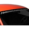 AmericanMuscle Windshield Banner - Frosted (94-04 All) - American Muscle Graphics 26128