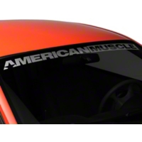 AmericanMuscle Windshield Banner - Frosted (94-04 All) - AmericanMuscle Graphics 26128