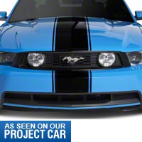 Black Super Snake Style Stripe Kit (79-14 All) - AmericanMuscle Graphics 26156