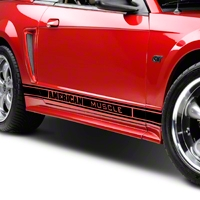 Black Rocker Stripes w/ American Muscle (79-14 All) - American Muscle Graphics 26183