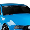 Bama Performance Windshield Banner - Frosted (05-14 All) - AmericanMuscle Graphics 26174