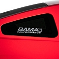 Bama Performance Quarter Window Decal - Frosted (05-14 All) - AmericanMuscle Graphics 26191