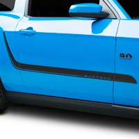 Matte Black Sport Stripe Kit (10-14 All) - AmericanMuscle Graphics 26218