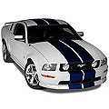 Blue Lemans Stripes - 12in (05-14 All) - AmericanMuscle Graphics 26234