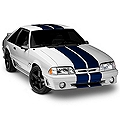 Blue GT500 Style Stripes - 10in (79-93 All) - AmericanMuscle Graphics 26236