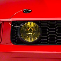 Yellow Fog Light Tint (05-12 GT) - AmericanMuscle Graphics 26254