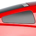 Matte Black Quarter Window Blackout (10-14 All) - AmericanMuscle Graphics 26259