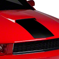 Black Hood Stripe (05-09) - American Muscle Graphics 26263