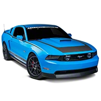 Matte Black RTR Style Graphics Package (10-12 All) - American Muscle Graphics 26274