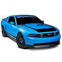 Black RTR Style Graphics Package (10-12 All) - American Muscle Graphics 26275